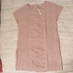 Madewell Striped Tee Dress